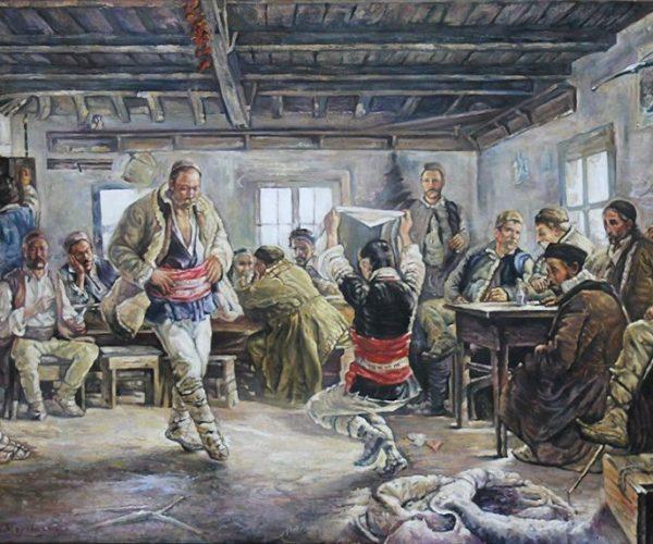 Ръченица - Ярослав Вешин, репродукция на Пламен Гурбалов