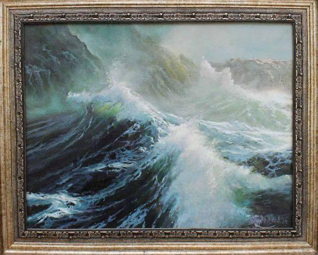 Бурно-море-картина
