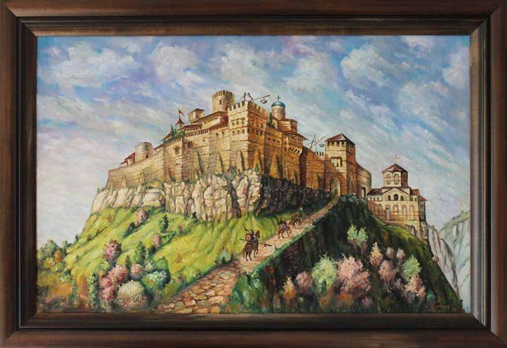 Крепостта Раховец, пейзаж